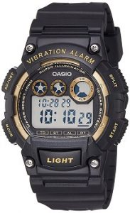 Casio Youth W-735H-1A2VDF Digital Black Dial Men's Watch