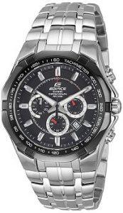 Casio Edifice EF-540D-1AVDF Chronograph Black Dial Men's Watch