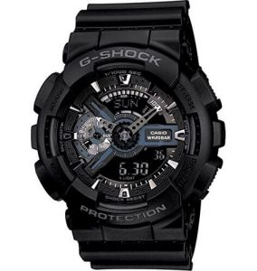 G-Shock Analog-Digital Black Dial Men's Watch - GA-110-1BDR