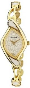 Sonata Sona Sitara Analog White Dial NF8073YM01 Women's Watch