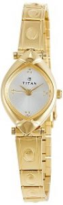 Titan Karishma Analog NE2417YM01 Silver Dial Women's Watch
