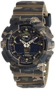 Casio GA-100CM-5ADR G-Shock Analog-Digital Green Dial Men's Watch