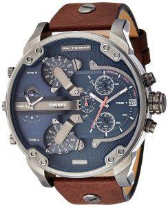 Diesel The Daddie Analog Blue Dial Men's Watch - DZ7314