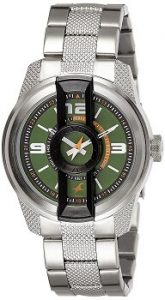 Fastrack 3152KM02 Analog Green Dial Men's Watch