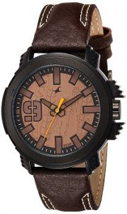 Fastrack 38015PL04 Analog Brown Dial Men's Watch