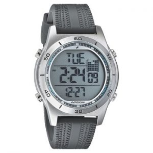 Fastrack Digital 38033SP03 Grey Dial Men's Watch