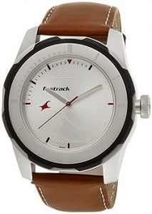 Fastrack Economy 2013 3099SL01 Analog White Dial Men's Watch