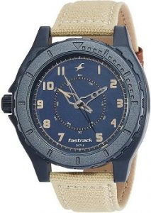 Fastrack OTS Explorer 9462AL01 Analog Blue Dial Men's Watch