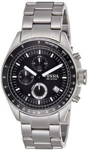 Fossil Decker CH2600IE Chronograph Analog Black Dial Men's Watch
