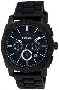 Fossil FS4487 Machine Chronograph Black Dial Men's Watch