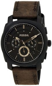 Fossil Machine FS4656 Analog Brown Dial Men's Watch