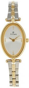 Titan Karishma NE2418BM01 Analog Silver Dial Women's Watch