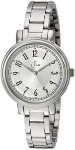 Titan Ladies 2554SM01 Neo-I Analog Silver Dial Women's Watch