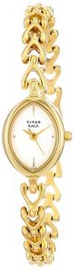 Titan Raga NE2370YM01 Analog White Dial Women's Watch