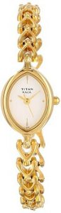 Titan Raga NE2370YM02 Analog Beige Dial Women's Watch