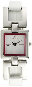 Titan Tagged NE2484SL02 Analog White Dial Women's Watch