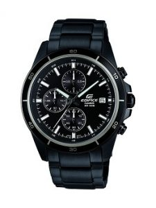 Casio Edifice EFR-526BK-1A1VUDF Chronograph Black Dial Men's Watch
