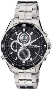Casio Edifice EFR-547D-1AVUDF Chronograph Black Dial Men's Watch