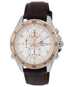 Casio Edifice EFR-547L-7AVUDF Chronograph White Dial Men's Watch