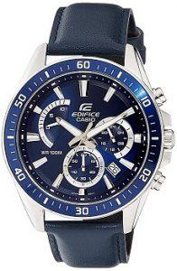 Casio Edifice EFR-552L-2AVUDF Analog Blue Dial Men's Watch