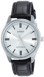 Casio Enticer Analog Silver Dial Men's Watch-MTP-V005L-7AUDF