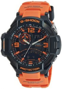 Casio G-Shock GA-1000-4ADR Professional World time Analog Black Dial Men's Watch