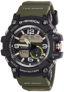 Casio G-Shock GG-1000-1A3DR Analog-Digital Black Dial Men's Watch