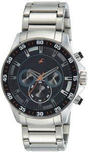 Fastrack 3072SM04 Analog Black Dial Men's Watch