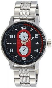 Fastrack 3159SM01 Analog Grey Dial Men's Watch
