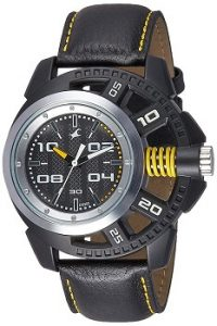 Fastrack 38028PL01 Analog Grey Dial Men's Watch