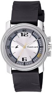 Fastrack Economy NE3039SP01 Analog Silver Dial Men's Watch