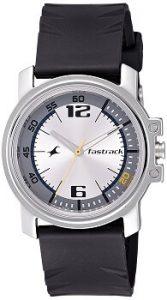 Fastrack Economy NE3039SP01 Analog Silver Dial Men's Watch