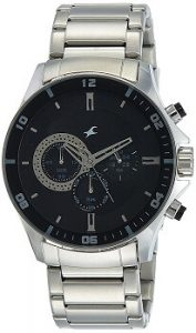 Fastrack ND3072SM02 Chrono Upgrade Analog Black Dial Men's Watch