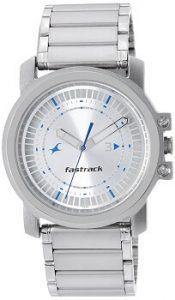 Fastrack Upgrades NE3039SM03 Analog Silver Dial Men's Watch