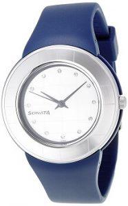 Sonata NF8991PP04J Fashion Fibre Analog Silver Dial Women's Watch