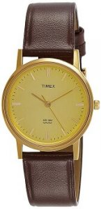 Timex Analog Champagne Dial Men's Watch-TW000A301 -