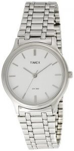 Timex Classic Analog White Dial Men's Watch - P100