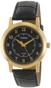 Timex Classics Analog Black Dial Men's Watch - TI000T10700