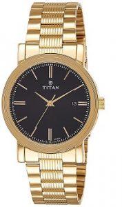 Titan 1712YM04 Analog Black Dial Men's Watch