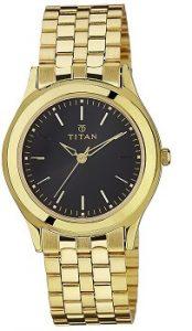 Titan Analog Black Dial Men's Watch - 1648YM03