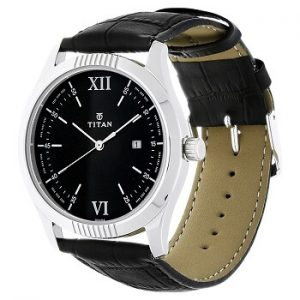 Titan Analog Black Dial Men's Watch-1739SL01