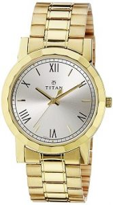 Titan Analog Silver Dial Men's Watch - 1644YM01
