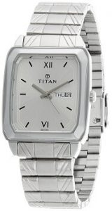 Titan Karishma Analog Silver Dial Men's Watch - NE1581SM03