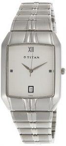 Titan Karishma Multi-function Analog White Dial Men's Watch - NE9264SM01A