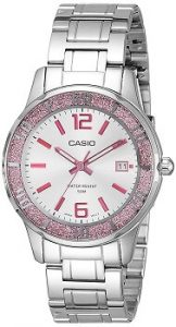 Casio Enticer Analog Silver Dial Women's Watch - LTP-1359D-4AVDF