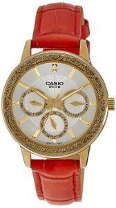 Casio Enticer Analog White Dial Women's Watch - LTP-2087GL-4AVDF