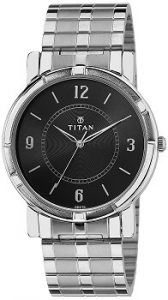 Titan Analog Black Dial Men's Watch-1639SM03