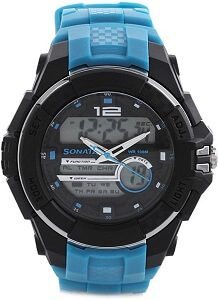 Sonata NH77027PP02J Superfibre Watch - For Men & Women