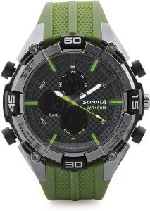 Sonata NH77028PP02 Superfibre Watch - For Men & Women