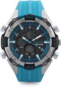 Sonata NH77028PP03 Superfibre Watch - For Men & Women